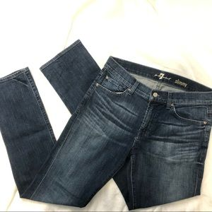 7 for all mankind denim jeans skinny 33 7FAM
